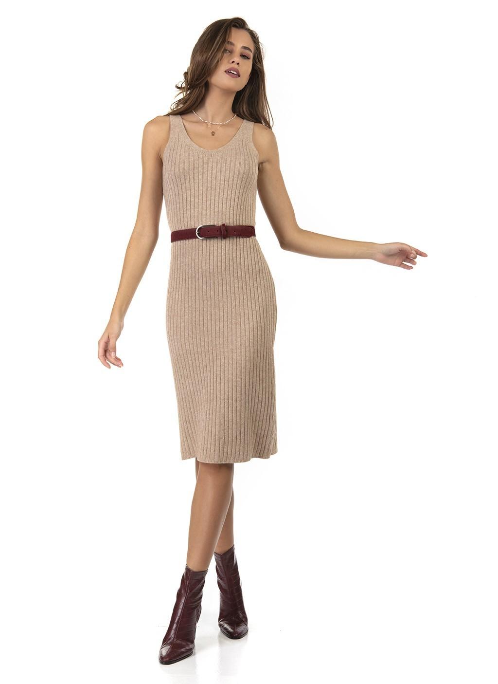 Φόρεμα πλεκτό σέτ με φαρδιά...