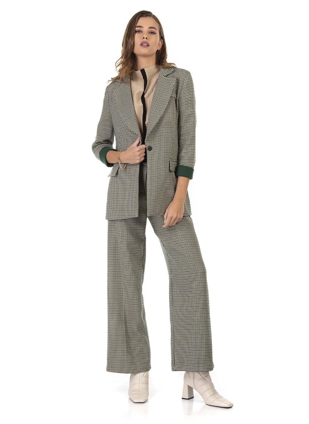 Κοστούμι πτι καρό με μακρύ...