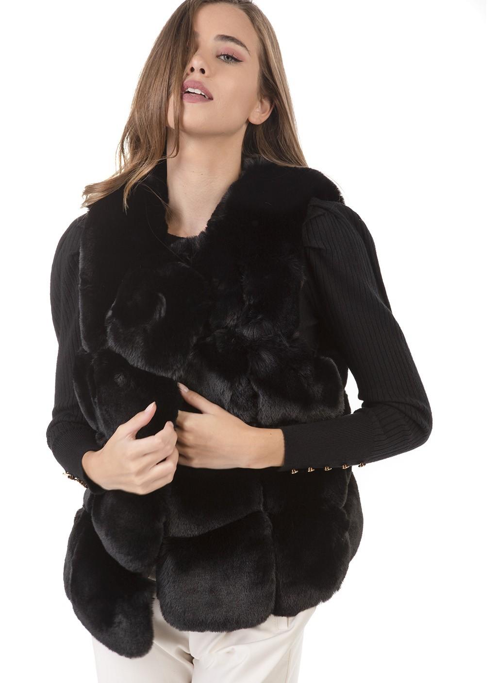 Γιλέκο γούνινο